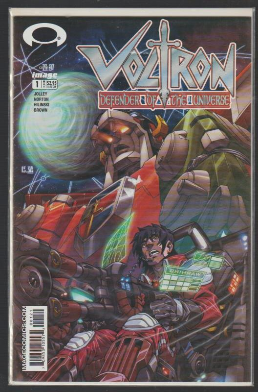 VOLTRON DEFENDER OF THE UNIVERSE #1 - IMAGE COMICS - N/M