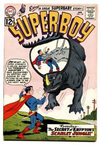SUPERBOY COMICS #102 1963-DC COMICS-WILD MONSTER COVER VF