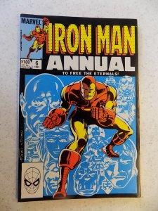 INVINCIBLE IRON MAN ANNUAL # 6