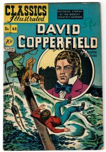 Classics Comics- David Copperfield #48 ORIGINAL VG/FN 5.0   printed June 1948