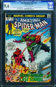 Amazing Spider-Man #122 CGC 9.6 1973 Death of Green Goblin 1161252003