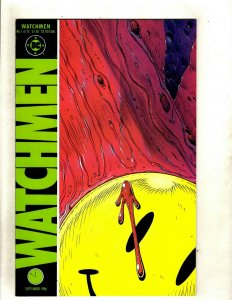 Watchmen Complete DC Comics LTD Series # 1 2 3 4 5 6 7 8 9 10 11 12 A. Moore HJ9