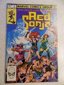 RED SONJA SHE DEVIL WITH A SWORD # 2 MARVEL FANTASY CONAN