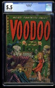 Voodoo #3 CGC FN- 5.5 Cream To Off White