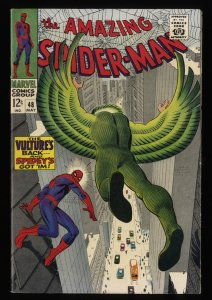 Amazing Spider-Man #48 VF- 7.5 New Vulture!