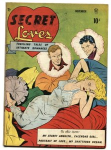 SECRET LOVES  #1-BILL WARD LINGERIE COVER 1949 comic book