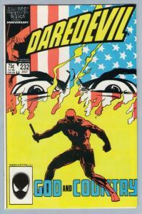 Daredevil 232 Jul 1986 NM- (9.2)