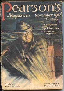 Pearson's November 1912--Hopalong Cassidy name origin-not in Price Guide-G/VG