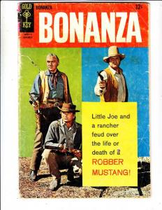 Bonanza #26 (Nov-67) GD Affordable-Grade Lorne Green, Michael Landon, Dan Blo...