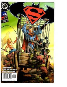 5 Superman/Batman DC Comic Books #16 17 18 19 20 1st Supergirl Ra's al Ghul BH24