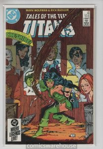 TALES OF THE TEEN TITANS (1984 DC) #52 FN+ A05667