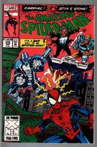 AMAZING SPIDER-MAN #376-MARVEL COMICS NM-CARDIAC