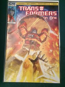Transformers Regeneration One #85 cover A