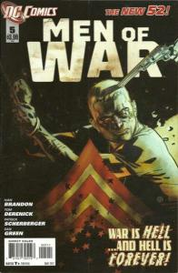 Men of War (2011 series) #5, VF (Stock photo)