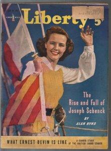 Liberty 6/28/1941-Macfadden-Bob Hope-Jack Oakie-WWII era-pulp fiction-VG