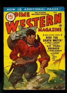 Dime Western Pulp May 1945- Frank Bonham- Walt Coburn- FN