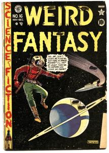Weird Fantasy #16 Seduction of the Innocent E.C. Sci-Fi 1950