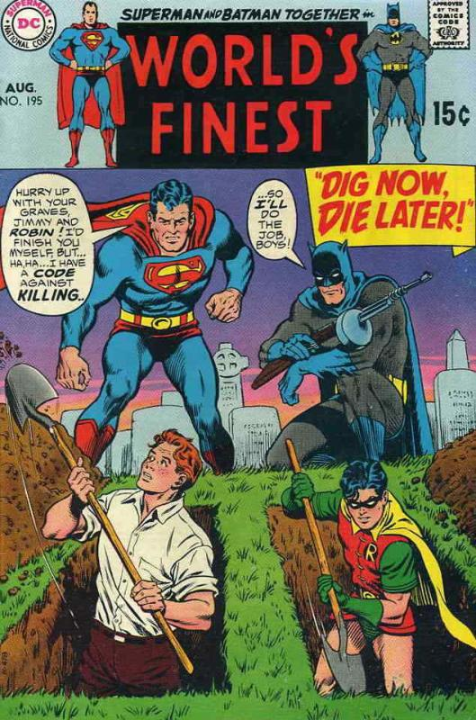World's Finest Comics #195 VG; DC | low grade comic - save on shipping - details