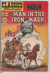 Classics Illustrated #54 (Dec-48) FN Mid-Grade