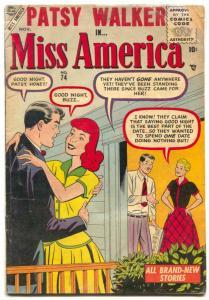 Miss America Comics #74 1955- PATSY WALKER- Hedy Wolfe G