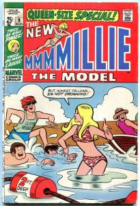 Mille The Model Annual #9 1970-QUEEN SIZE SPECIAL SWIMSUIT cover VG