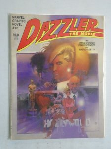 Dazzler The Movie Graphic Novel #1 6.0 FN (1984 1st Printing)