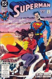 Superman (1987 series) #59, VF (Stock photo)