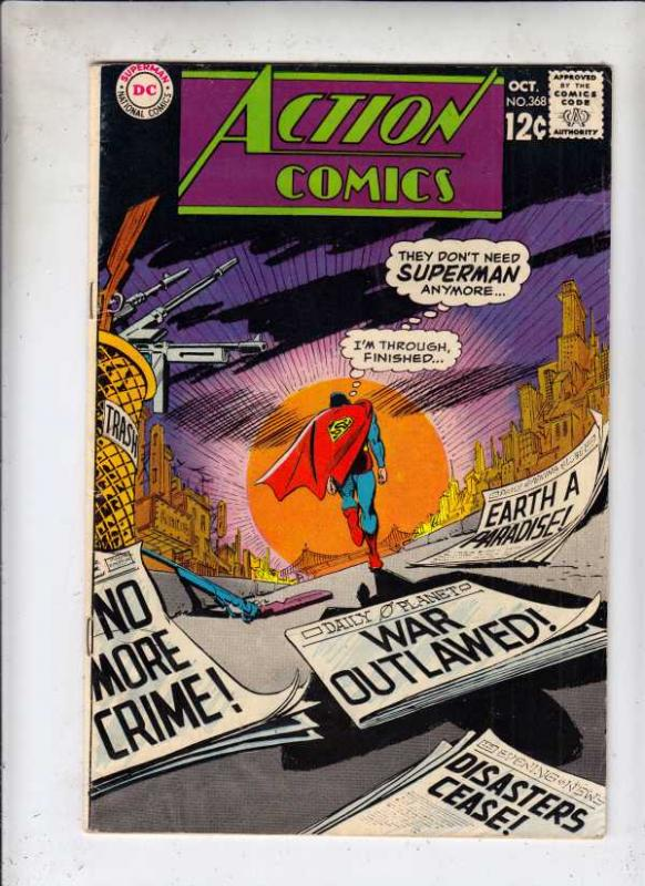 Action Comics #368 (Oct-68) VF High-Grade Superman