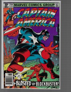 Captain America #256 (Marvel, 1981) NM