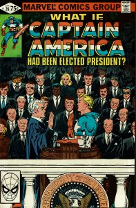 What If... #26 - VF/NM - Captain America had been Elected President?