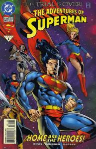 Adventures of Superman #531 VF; DC | save on shipping - details inside