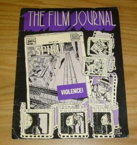 Film Journal Magazine #7 FN will eisner's the spirit cover 1975