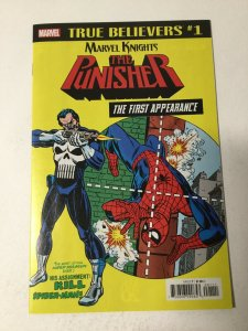 True Believers: Punisher First Appearance Marvel Knights Nm Near Mint Marvel