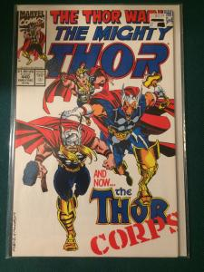 The Mighty Thor #440 The Thor War part 3 of 4
