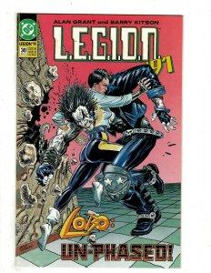 10 DC Comics LEGION 30 33 34 37 42 Super-Heroes 117 Lex Luthor 1 Hitman + HG3