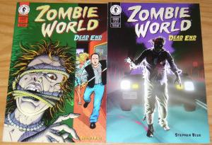 Zombie World: Dead End #1-2 FN/VF complete series - dark horse comics horror set