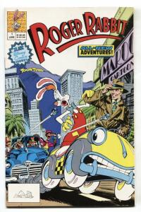 Roger Rabbit #1 1990 Disney comics 1st issue NM-