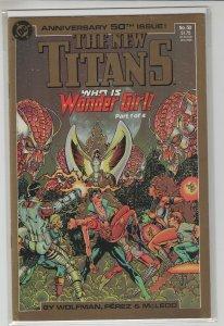 NEW TEEN TITANS (1984 DC Comics) #50 VF+