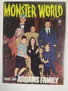 MONSTER WORLD 9 ADDAMS FAMILY TV SHOW 1966 VG-F