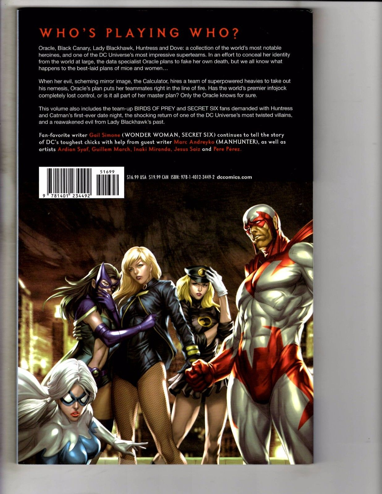 Birds Of Prey Death Of Oracle DC Comics TPB Graphic Novel
