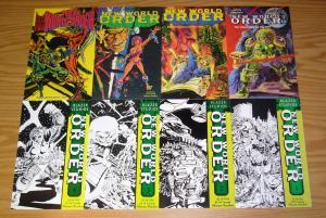 New World Order #1-8 VF/NM complete series - blazer studios comics set - signed