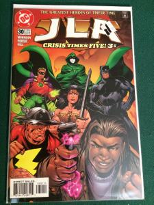 JLA #30 Crisis Times Five! 3 of 4