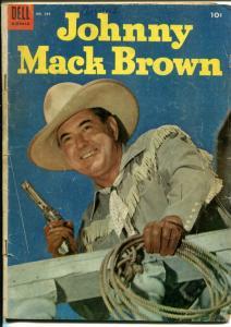 Johnny Mack Brown-Four Color Comics #584 1950-Dell-Jesse Marsh-G/VG