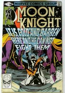 Moon Knight #7 Marvel 1981 VF+ Bronze Age 1st Printing Comic Book