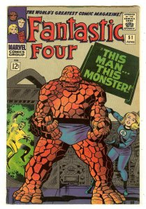 Fantastic Four 51   Classic This Man...This Monster story