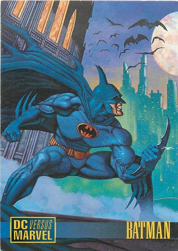 DC Versus Marvel 1995 promo BATMAN #1 Still Sealed