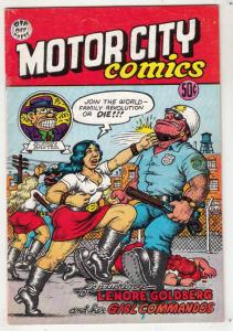 Motor City Comics #1 (Apr-69) FN+ Mid-High-Grade Lenore Goldberg, Eggs Ackley