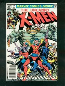 X-MEN #156 1982-MARVEL-HIGH GRADE VF