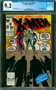 Uncanny X-Men #244 CGC Graded 9.2 1st appearance of Jubilee (Jubilation Lee).
