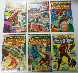 Marvel Adventure featuring Daredevil, Set:#1-6, 6.0/FN (1975)